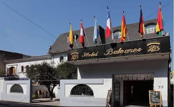 Hotel baleares santiago de chile//hotel boutique en el corazón de santiago