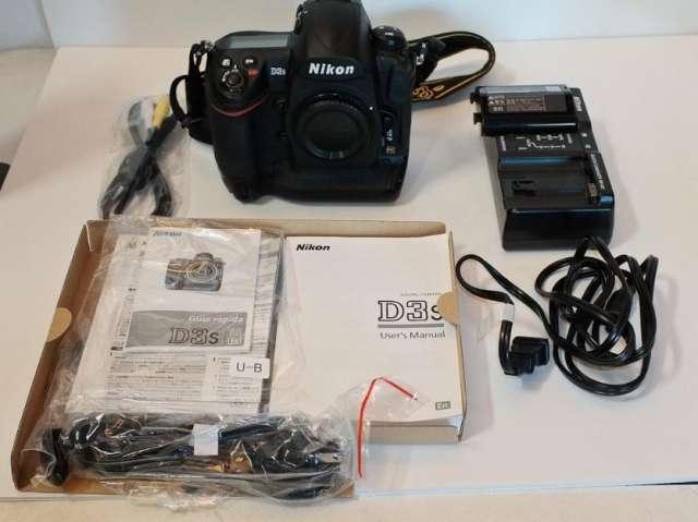 Nikon d3s 12.1 megapíxeles digital slr .. $2000