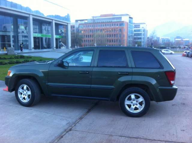 Jeep new grand cherokee laredo 3.7 automático 2008 full