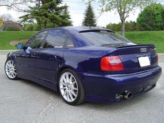 Audi a4 1.8 quattro sedan manual azul