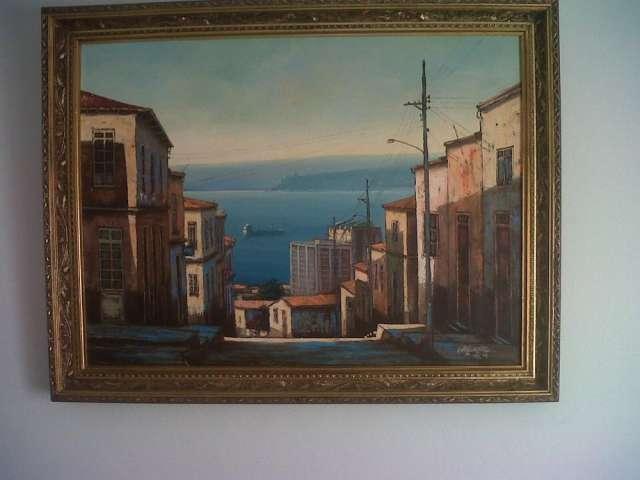 Pintura óleo cortéz gonzález marzo 2001
