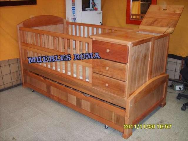 Cunas multifuncionales y muebles en general en madera nativa en ...