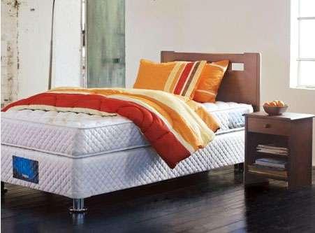 Vendo cama americana tfx-4 1.5 plazas + respaldo desmontable