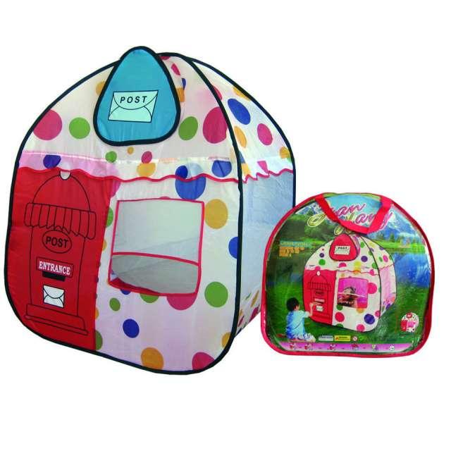 Carpas infantiles, coloridas casitas plegables para niños pekenino