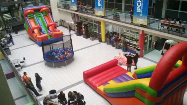 Juegos inflables - pinta caritas - cumpleaños infantiles
