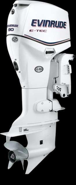 Evinrude 90hp modelo dpx. el fuera de borda superior