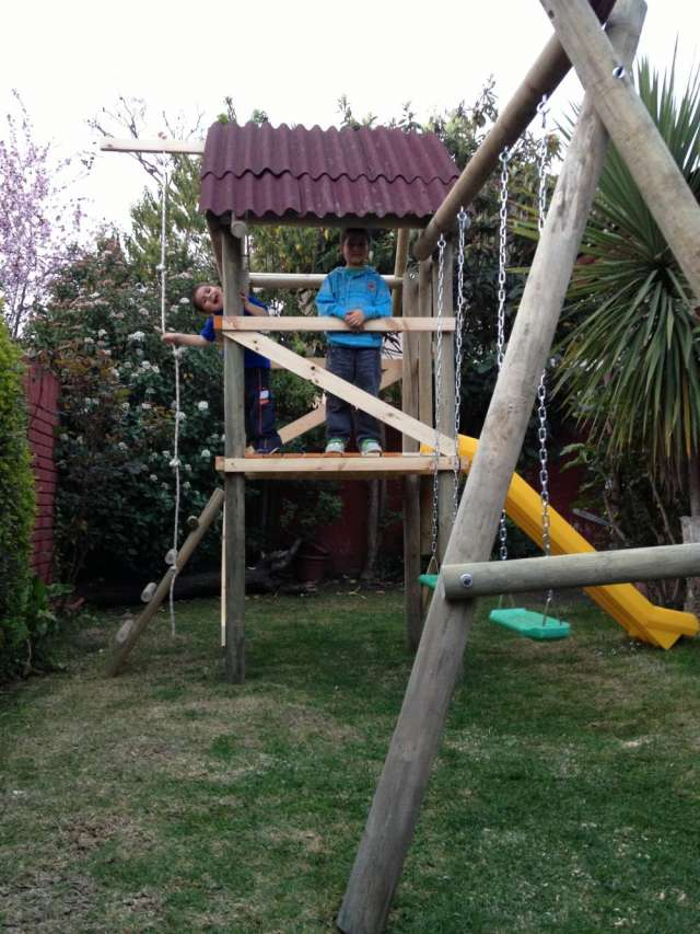 Juegos infantiles exterior de madera 9 2 4 3 9 9 2 9 en La Reina