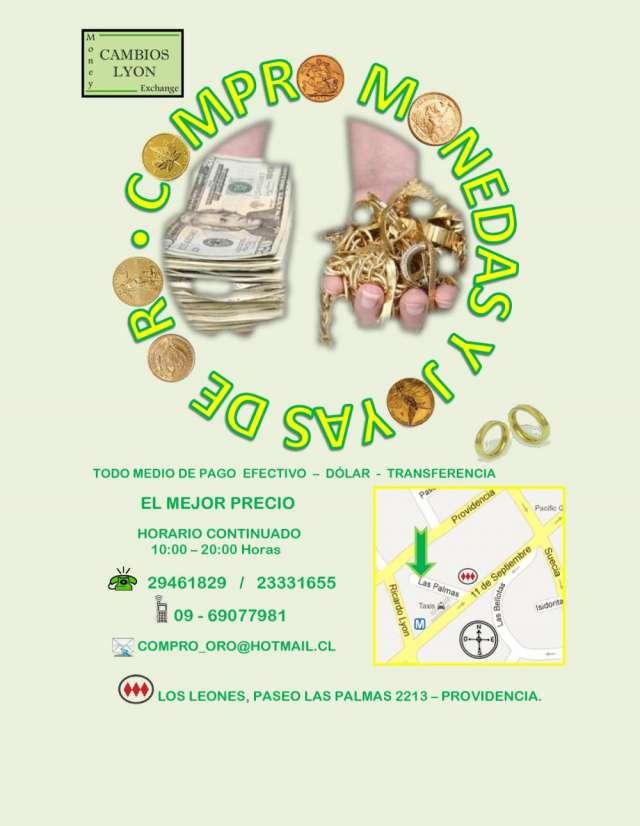 275bda5344c6 Compro joyas y monedas de oro en Santiago - Joyas