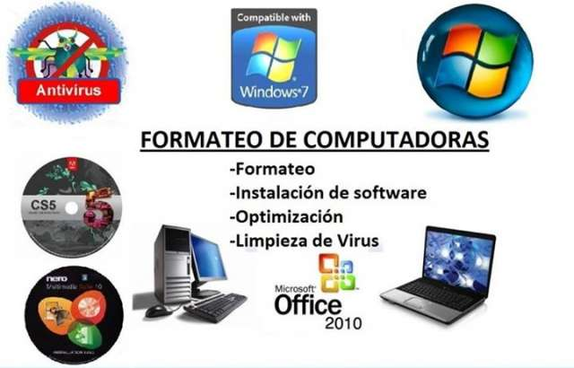 Formateo pc, notebook