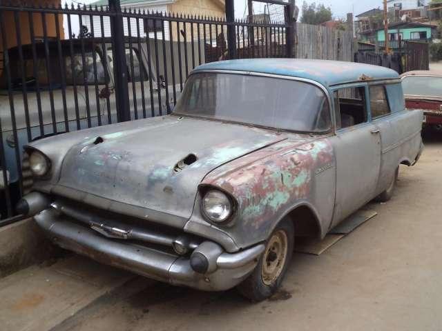 Chevrolet 1957 funcionando