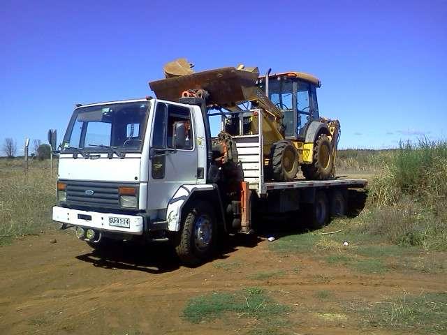 Servicio de arriendo de camion pluma y transporte de carga
