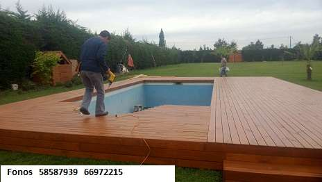 Piscinas elevadas com deck ventajas de las piscinas for Piscinas de pvc