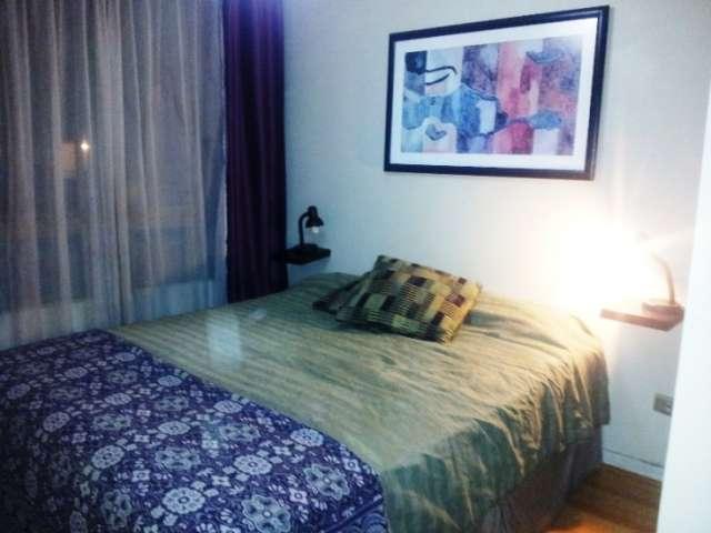 Arriendo departamentos amoblados 1 y 2 dormitorios por dias santiago centro
