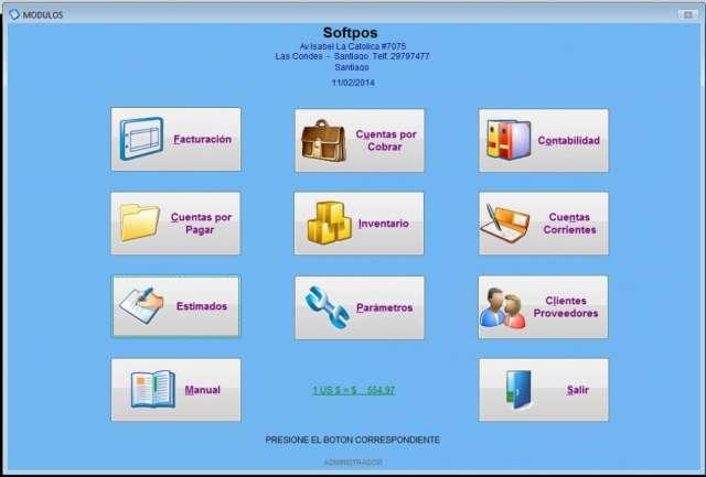 Softpos software de gestión comercial