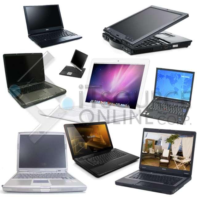Lotes de laptop usadas miami, hp dell apple toshiba