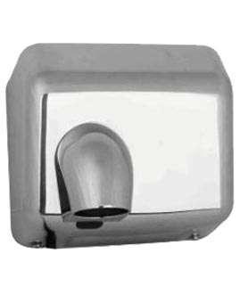 Secador de manos, acero inoxidable