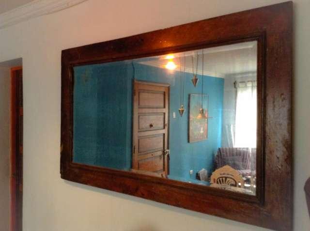 Espejos marco madera espejos marco madera espejo marco for Espejos con marco de madera blanco