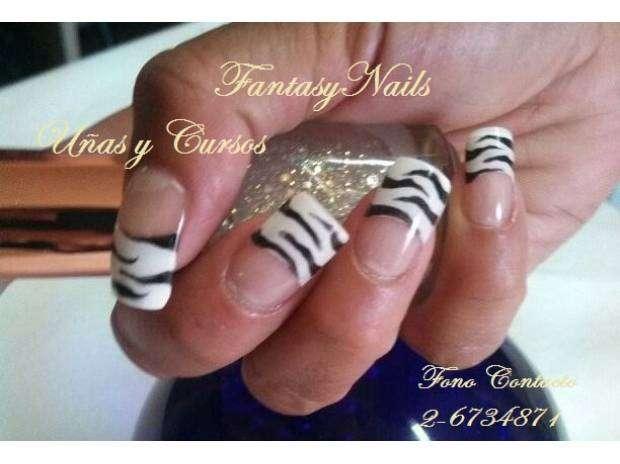 Cursos de manicure, acrílicas, depilación, pestañas www.fantasynails.cl
