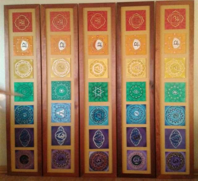 Chakras, mandalas,modernos
