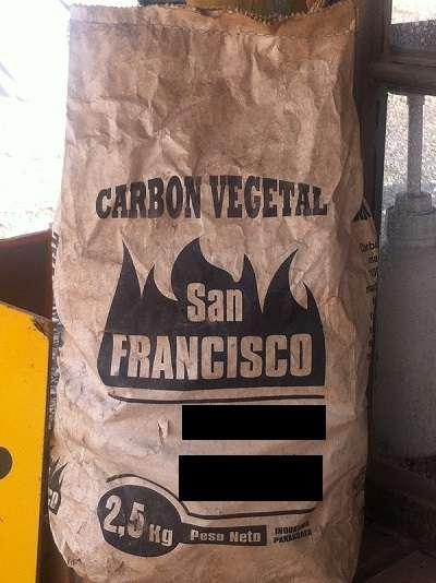 Carbón de espino en bolsas 2,5 kilos
