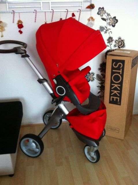 Stokke xplory v4 del cochecito de bebé completo