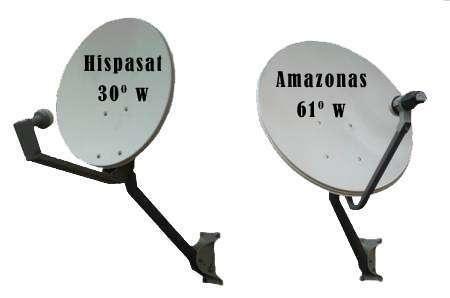 Venta e instalaciones decodificadores fta, orientacion de antenas