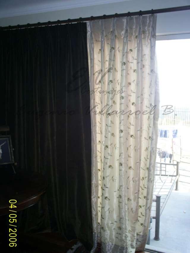 Confección e instalación de cortinas