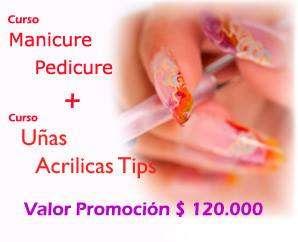 Curso manicure mas pedicure mas uñas acrilica