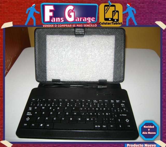 Funda con teclado para tablet de 7'' pulgadas usb