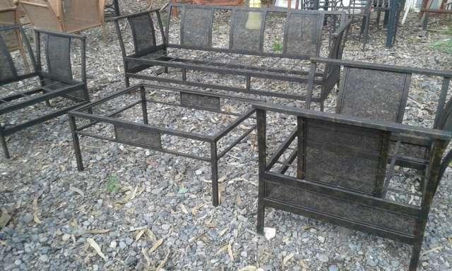 Fabricacion De Muebles De Terraza En Fierro Forjado