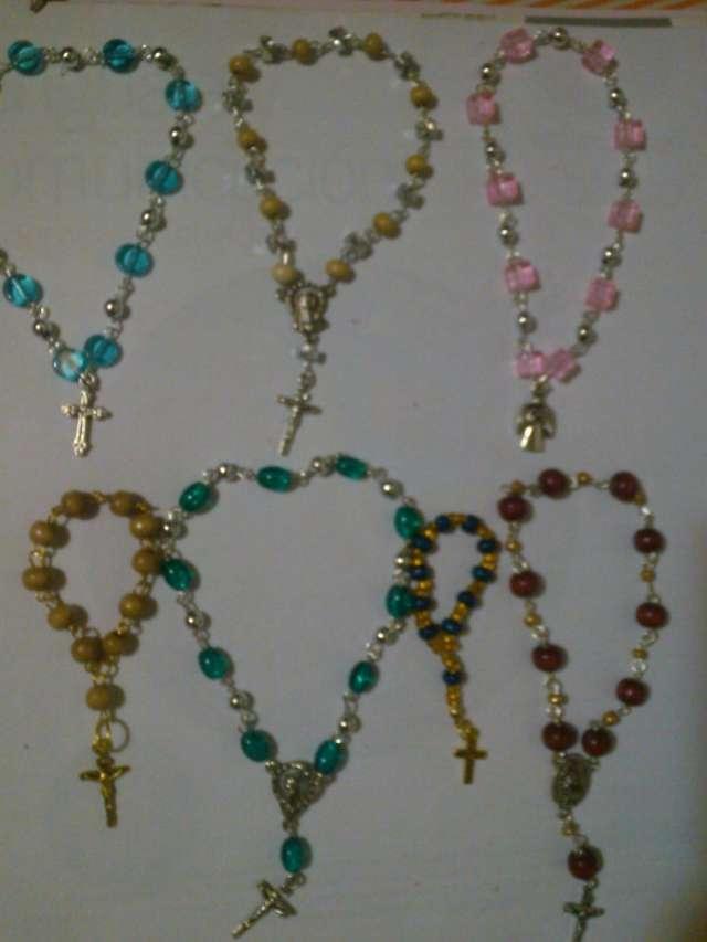 Artesanias denarios y rosarios por mayor y menor