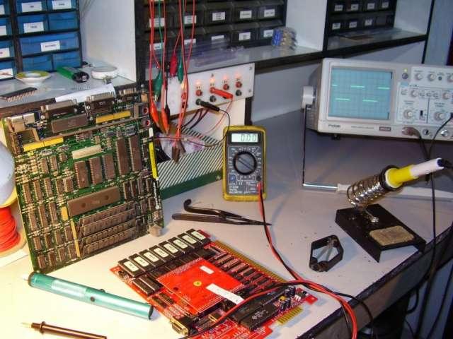Servicio tecnico maquinas de entretenimiento eelectronico