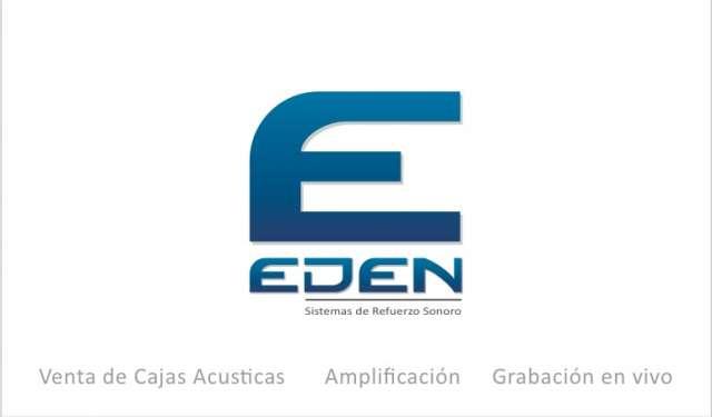 Eden audio parlantes profesionales- amplificación- grabación en vivo