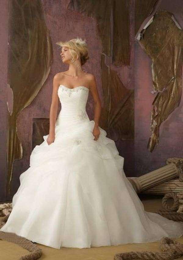 Vestidos de novia hermosos corte princesa
