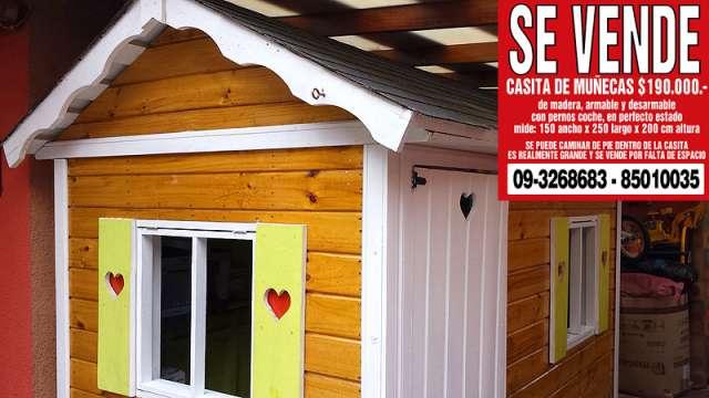 Vendo casa de muñecas grande xxl $190.000.-