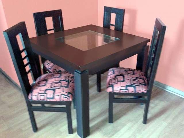 Venta de mesa comedor + 4 sillas y muebles cocina en Santiago ...