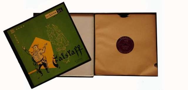 Discos de música clásica. colección de acetato