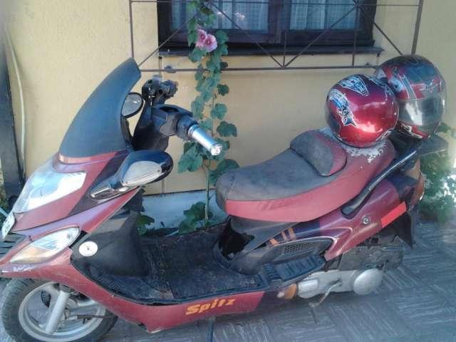 moto scooter desarme