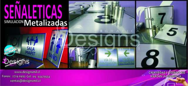 Grafica autoadhesiva - logotipos - plotter -vinilos empavonados