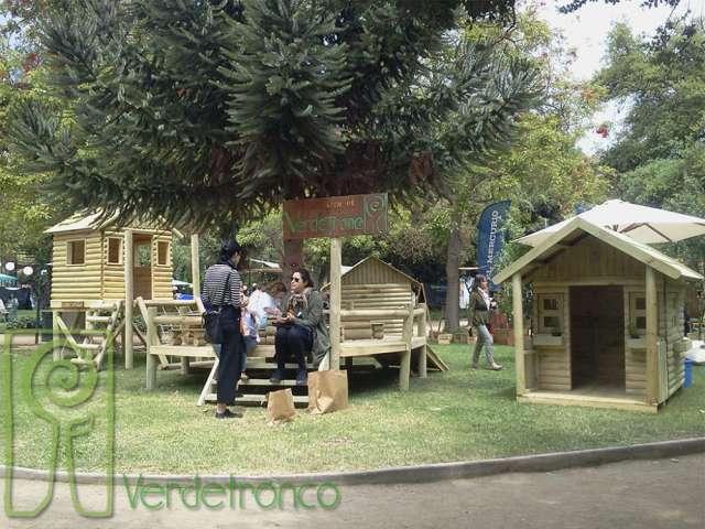 Verdetronco; proyectos infantiles en madera; casitas de muñeca
