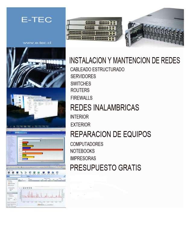 Instalación y mantención de redes
