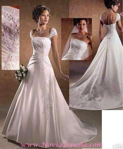 Vestidos de novia baratos online españa www.noviaespanya.com en ...