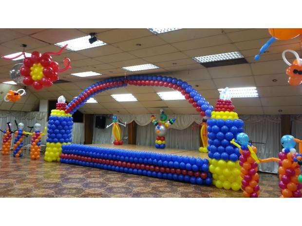 Decoracion con globos