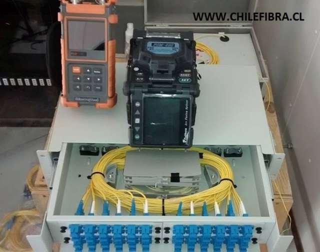 Fusionado de fibra optica