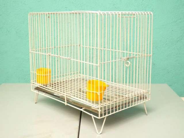 Jaula para aves modelo individual