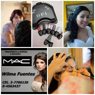 Peinados y maquillaje mac a domicilio novias, graduaciones