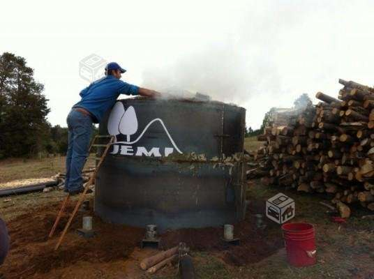 Horno Metálico Para Hacer Carbón Vegetal En Temuco Otros