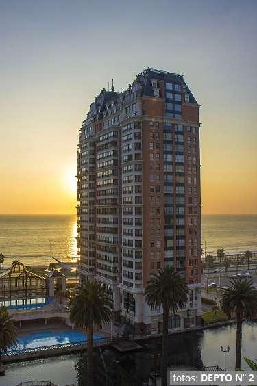 Viña del mar espectacular 4 dormitorios, frente playa, piscinas