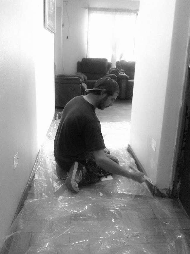 Maestro pintor responsable particular