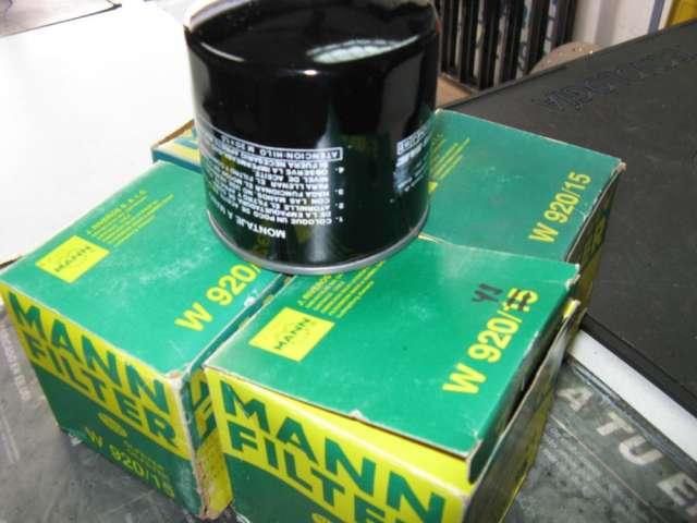 Filtro de aceite marca mann w 920/41